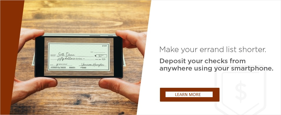 Mobile Deposit Awareness